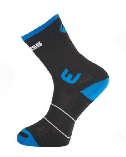 ponožky Progress WALKING černo/modré