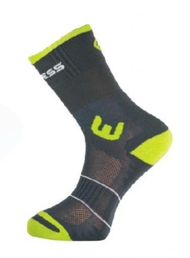 ponožky Progress WALKING šedo/zelené