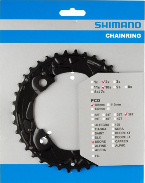 Převodník 38z Shimano Deore FC-M615 2x10 4 díry