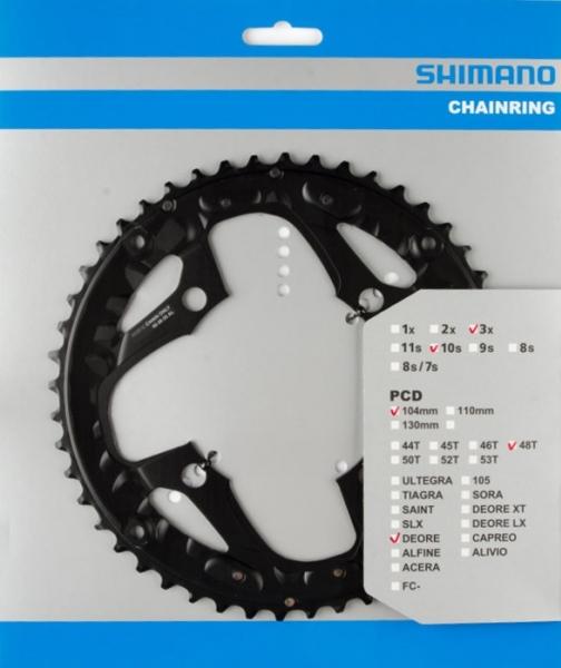 Převodník 48z Shimano Alivio FC-M610 3x10 4 díry