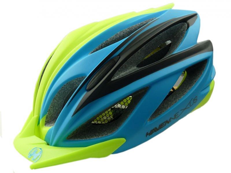 přilba HAVEN Nexus modro/zelená