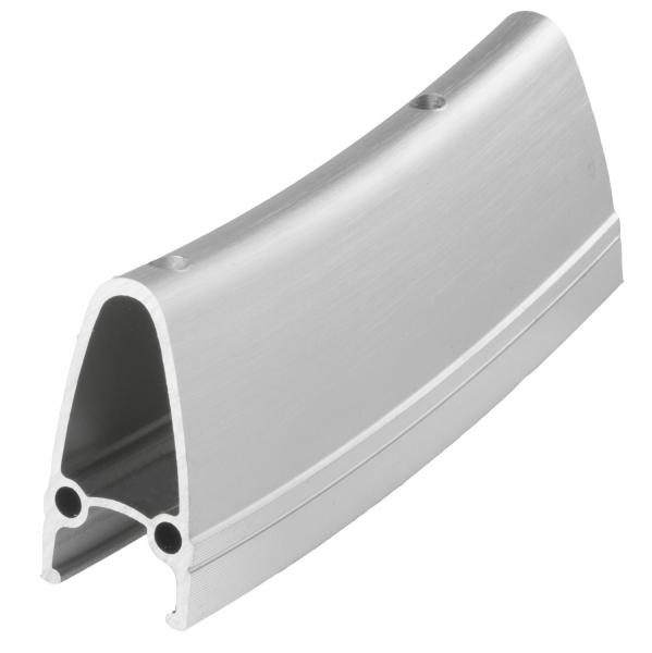 "ráfek 28""/622 32d. CNC  výška 40mm double stříbrný"