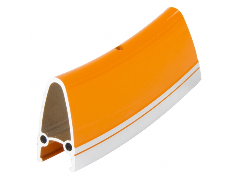 """ráfek 28""""/622 32d. CNC  výška 40mm double oranžový"""