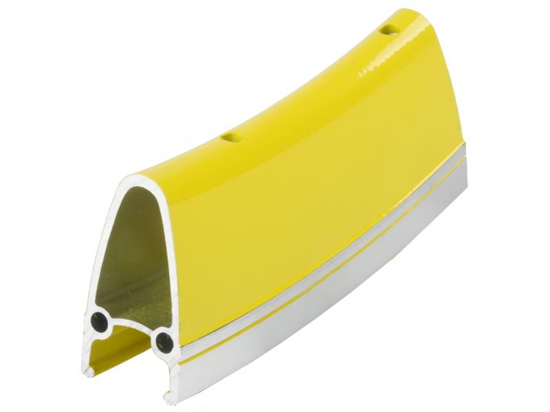 "ráfek 28""/622 32d. CNC  výška 40mm double žlutý"