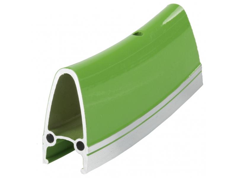 """ráfek 28""""/622 32d. CNC  výška 40mm double zelený"""