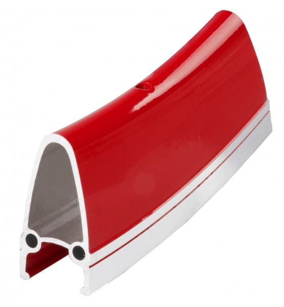 """ráfek 28""""/622 32d. CNC  výška 40mm double červený"""