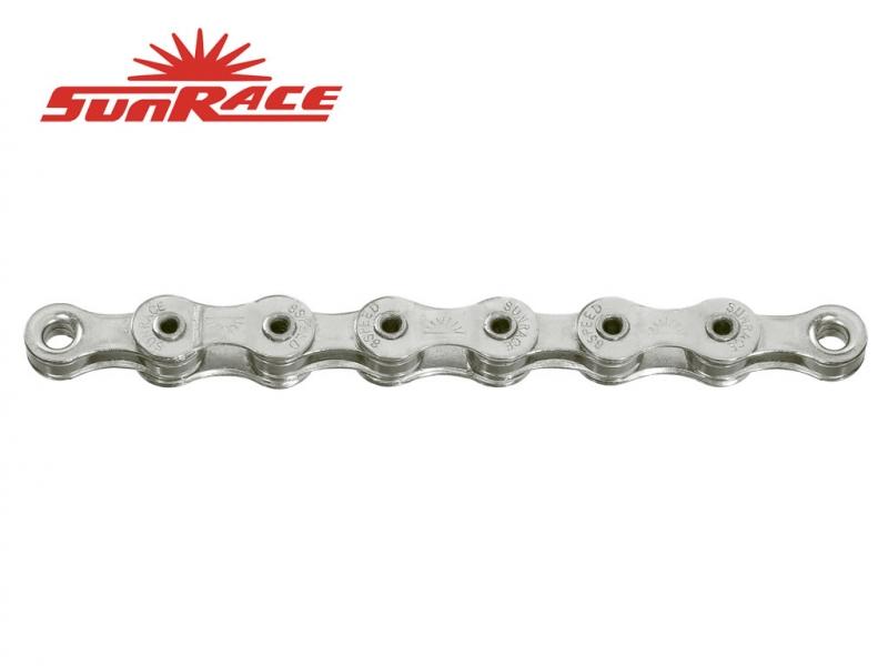 řetěz SunRace CNM89 8k 116čl. stříbrný