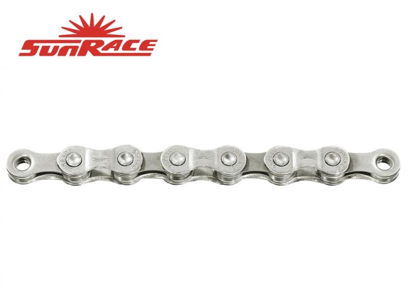 řetěz SunRace CNM94 9k 116čl. stříbrný