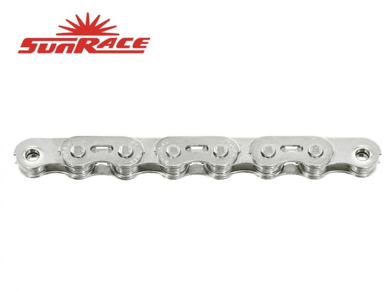 řetěz SunRace CNX46 BMX stříbrný 102čl