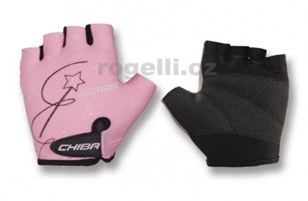 rukavice dětské CHIBA KIDS růžové
