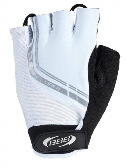 rukavice pánské BBB GelLiner bílé