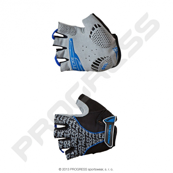 rukavice pánské Progress PULL MITTS černo/modré