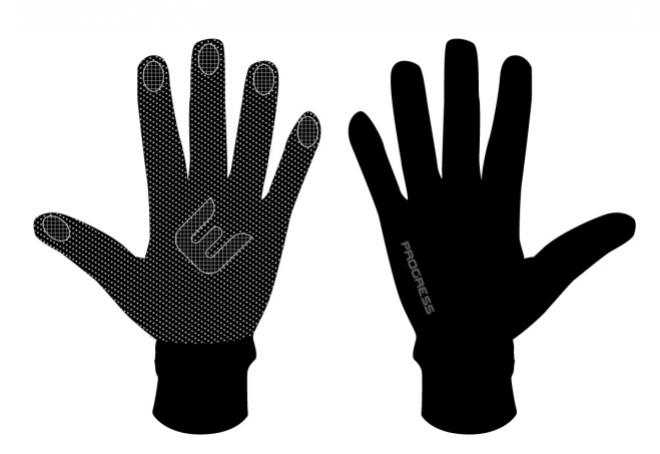 rukavice Progress WINDY zimní černé