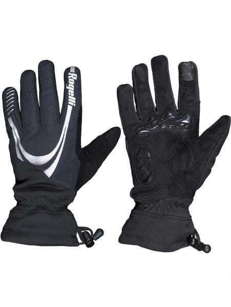 rukavice Rogelli NOORVIK zimní nepromokavé černé