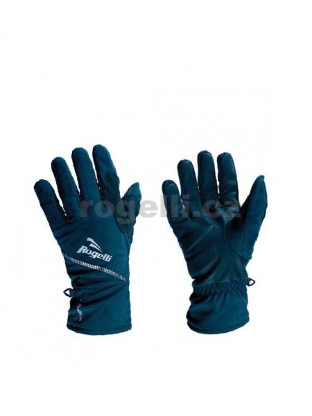 rukavice Rogelli WINDSOR zimní softshell černé