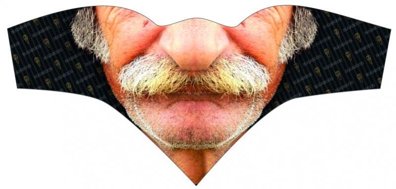 šátek HAVEN trojcípý Bugaboos Moustache