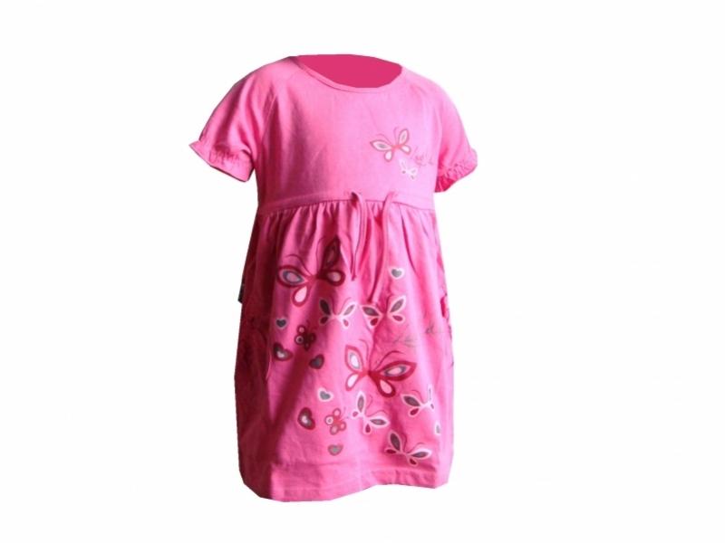 šaty dětské LOAP RONAF růžové