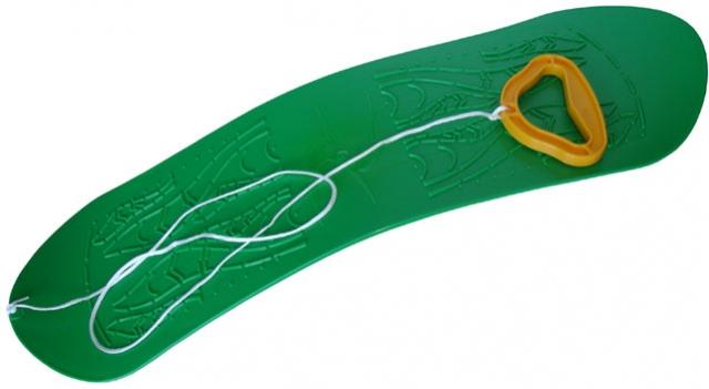 snowboard - kluzák zelený