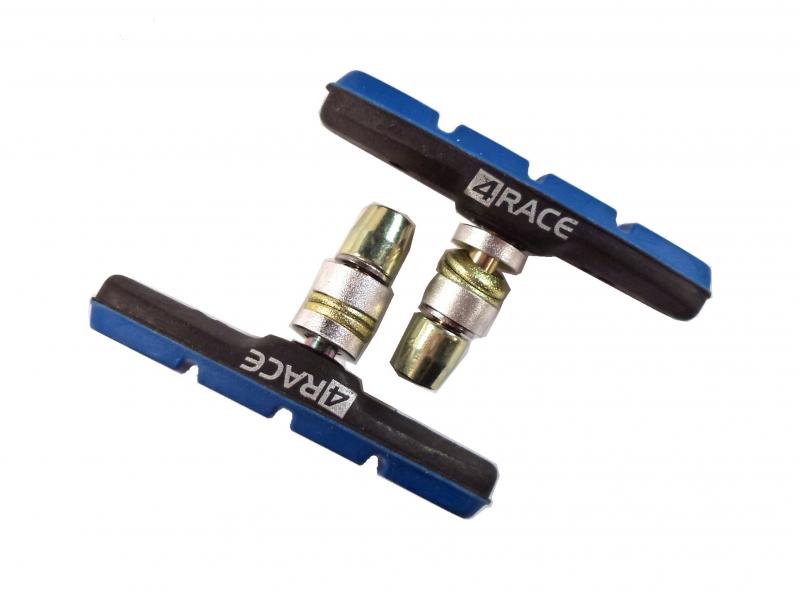 špalíky 4RACE MTB šroub 72mm černo-modré