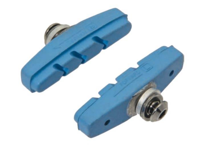 špalíky 4RACE silniční šroub 50mm modré