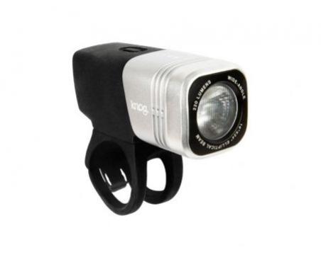 osvětlení přední Knog Blinder ARC 220 stříbrné