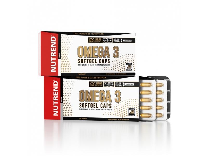 tablety Nutrend OMEGA 3 SOFTGEL 120tablet