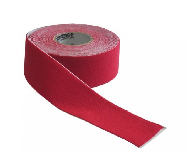 tape kinezio 2.5x5m červený