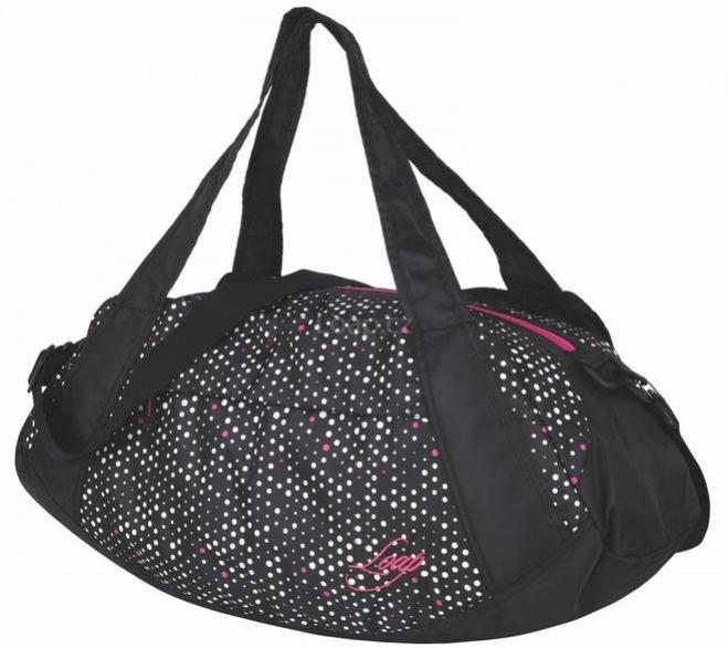 taška ladies LOAP SANDRINE černo/puntíky