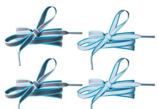 tkaničky reflexní tyrkysové