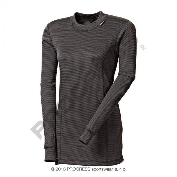 triko dlouhé dámské Progress MS NDRZ černé