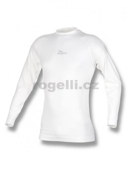 triko dlouhé pánské Rogelli funkční bílé