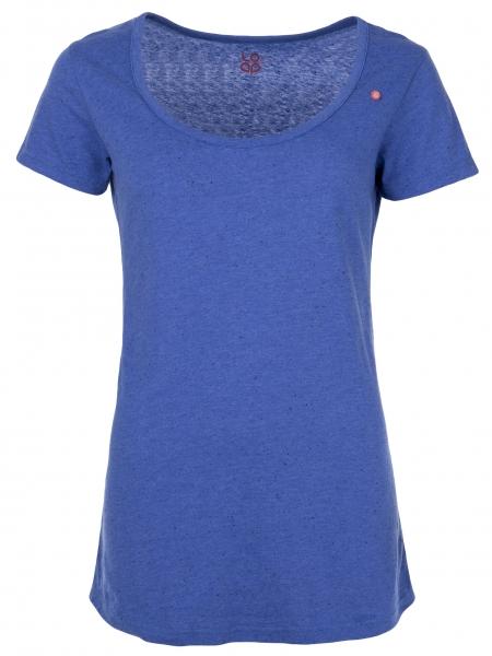 triko krátké dámské LOAP ANOTACE modré