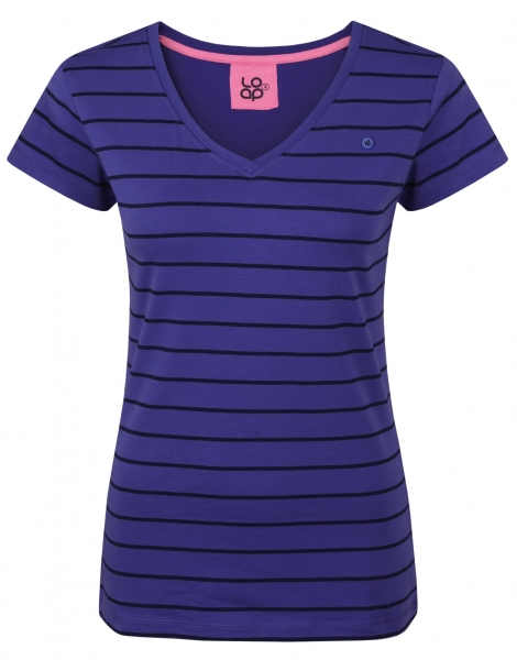 triko krátké dámské LOAP BETANA fialové