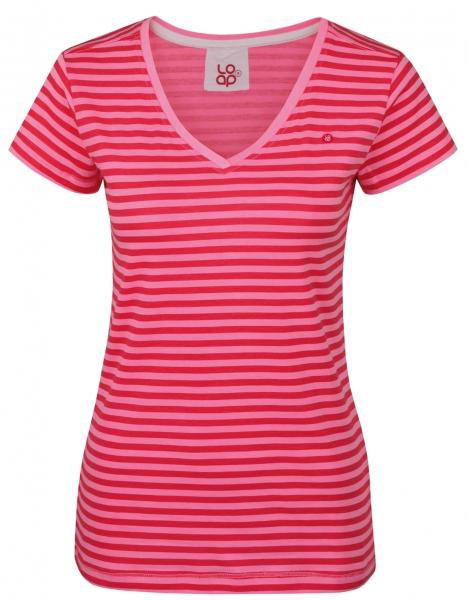 triko krátké dámské LOAP BETANA růžové