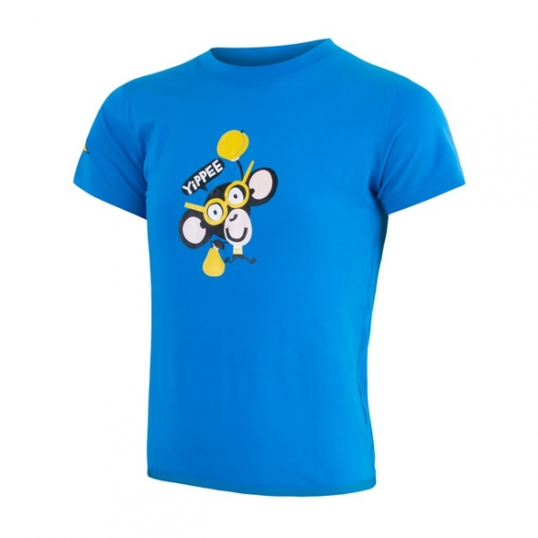 triko krátké dětské SENSOR COOLMAX FRESH PT CHIMPANZEE modré