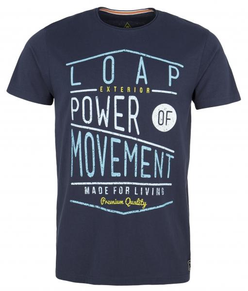 triko krátké pánské LOAP ARTHUR modré