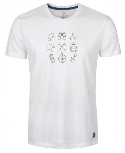 triko krátké pánské LOAP BOSON bílé