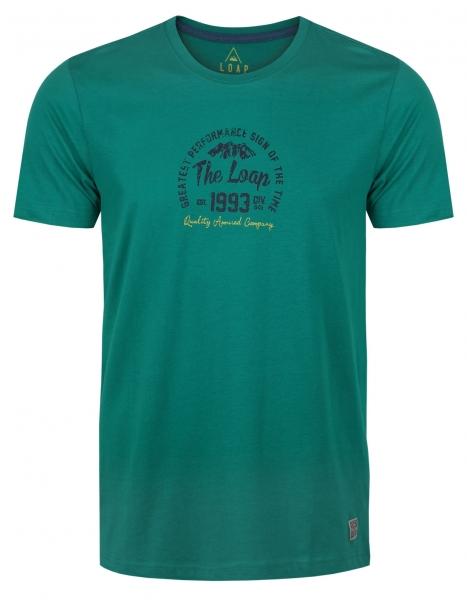 triko krátké pánské LOAP BRANDEN zelené