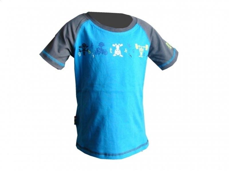triko krátké dětské LOAP RIMIK modré