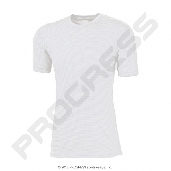 triko krátké pánské Progress MS NKR bílé