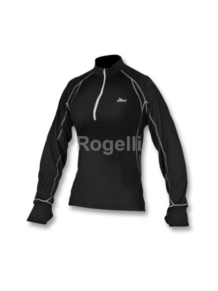 triko dlouhé dámské Rogelli CRANE černé