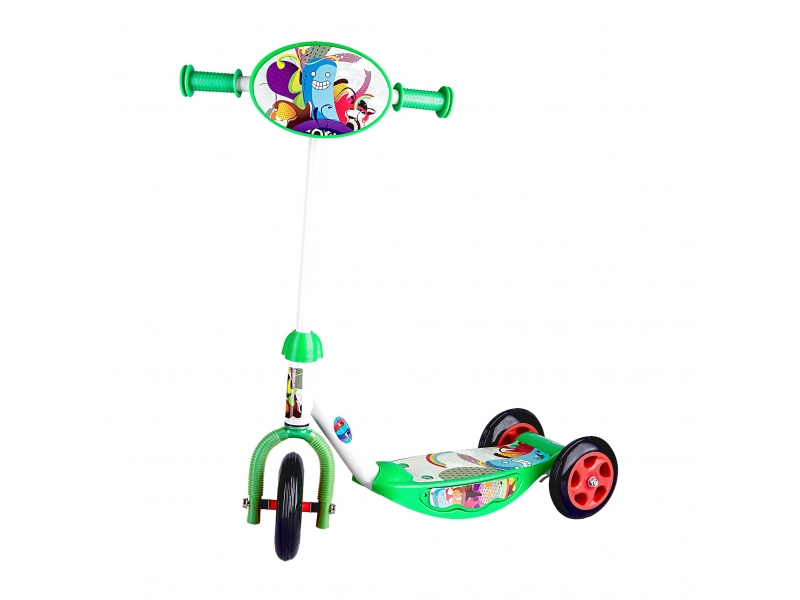 tříkolka Spokey CRITTER zelená
