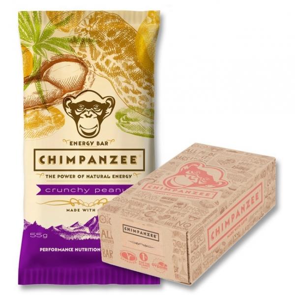 tyčinka Chimpanzee Energy Bar Crunchy arašídy