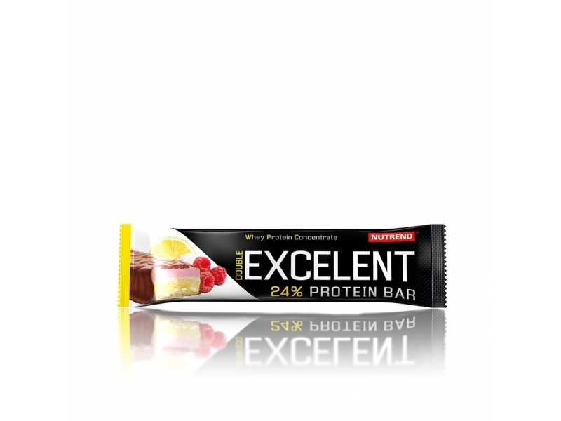 tyčinka Nutrend Excelent DOUBLE citron 85g
