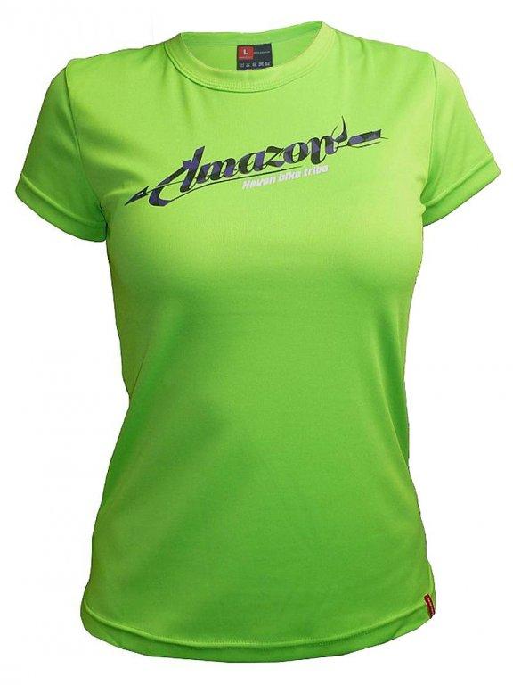 dres krátký dámský HAVEN AMAZON zeleno/fialový,S
