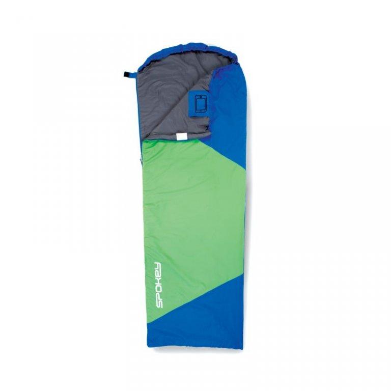 spacák Spokey ULTRALIGHT 600 II modro/zelený