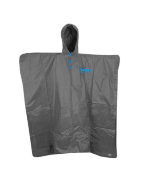 pláštěnka HAVEN RAINCOAT Poncho šedo/modrá, L/XL