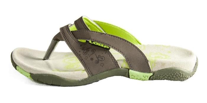boty dámské LOAP EVE sandály šedé, 36