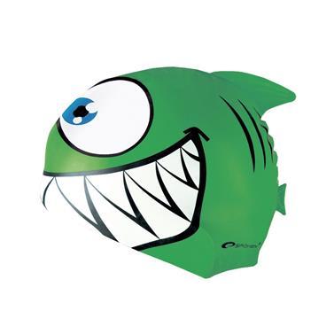 čepice plavecká dětská Spokey REKINEK zelená