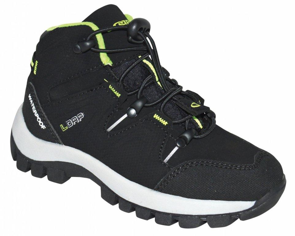 boty dětské LOAP TARBY zimní černé, 29